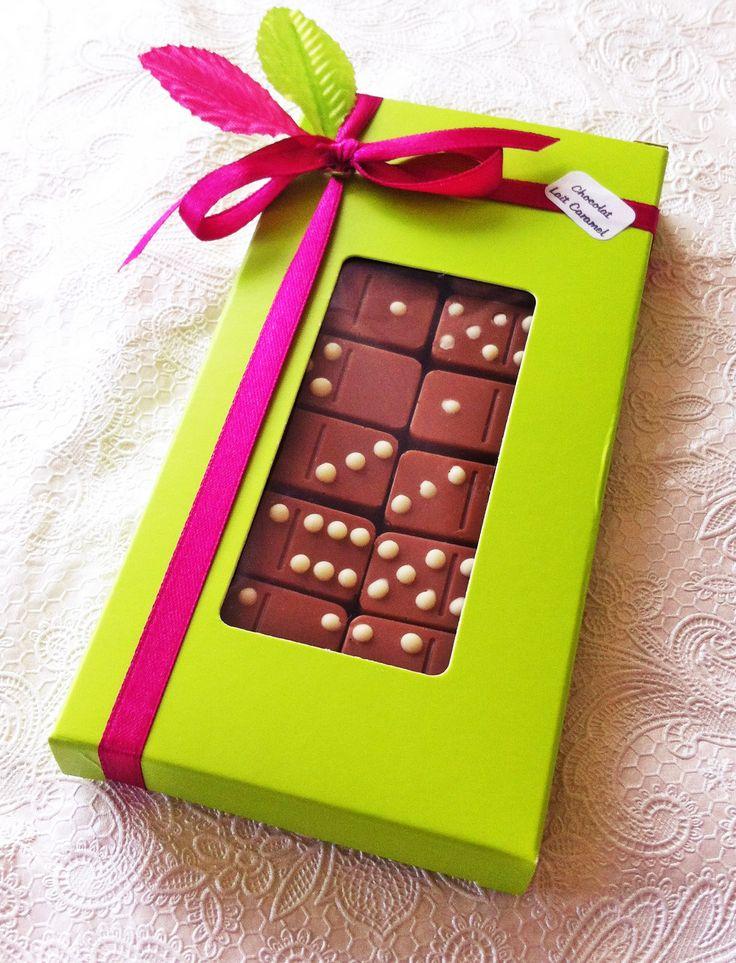 Chocolats au Lait Caramel By claudiachocolaterie17.fr