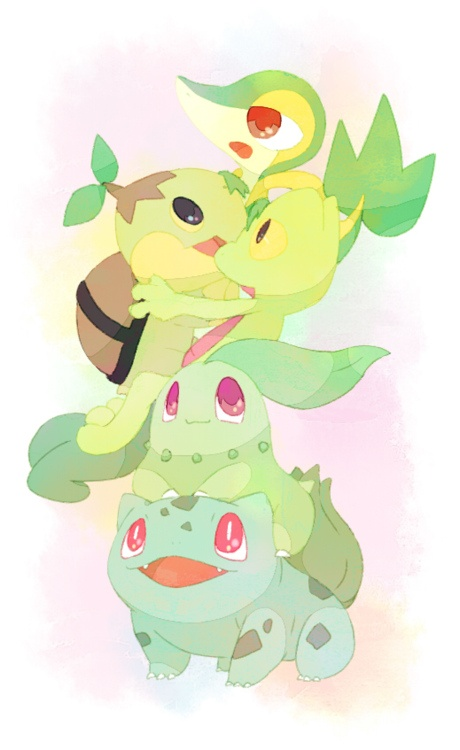 all the grass starters