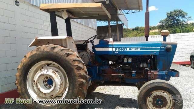 Trator Ford/New Holland 6600 4x2 ano 81 em Piumhi MG Vender Comprar Trator Ford/