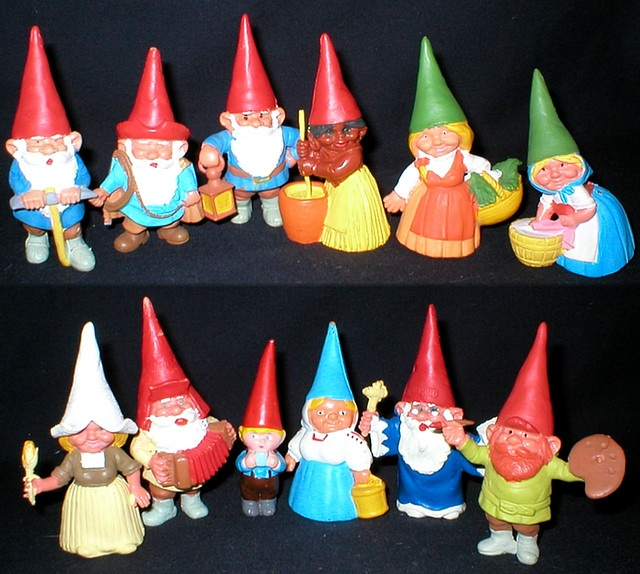 Gnome In Garden: Toys I Remember