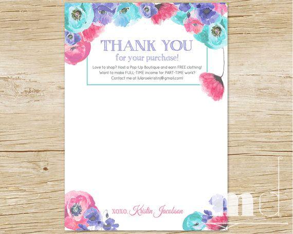 Best 25+ Thank you lularoe ideas on Pinterest Packaging ideas - customer thank you letter