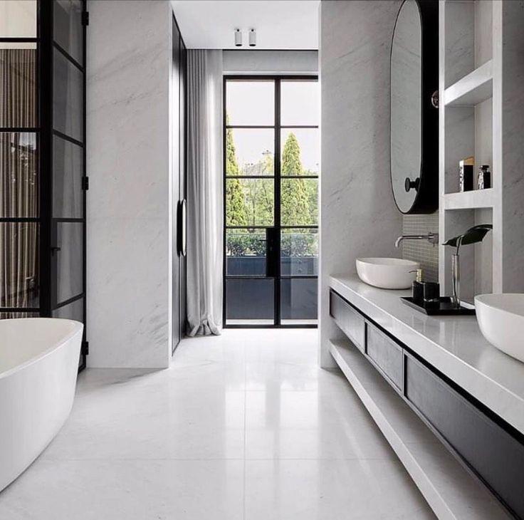 Image result for monochromatic bathroom designs | Bathroom ... on Monochromatic Bathroom Ideas  id=27242