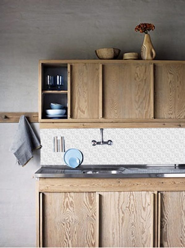 Behang WIT 3D | Collectie | kitchenwall