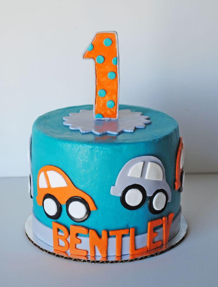 Car Smash cake …