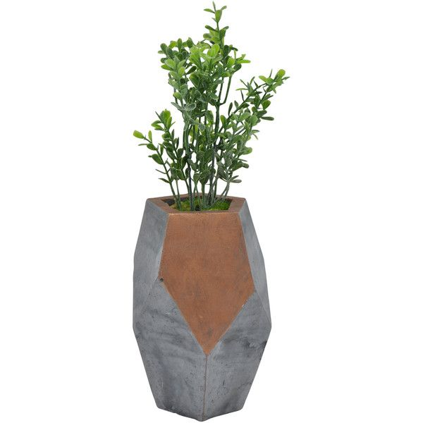 Three Hands Corp Decorative Faux Plant 9 99 Liked On Polyvore Featuring Home