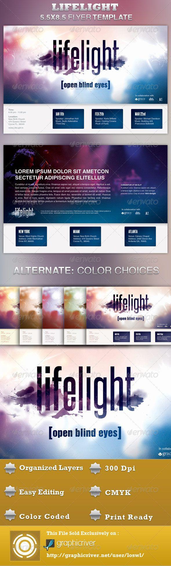 best images about flyers business flyer lifelight church concert flyer template