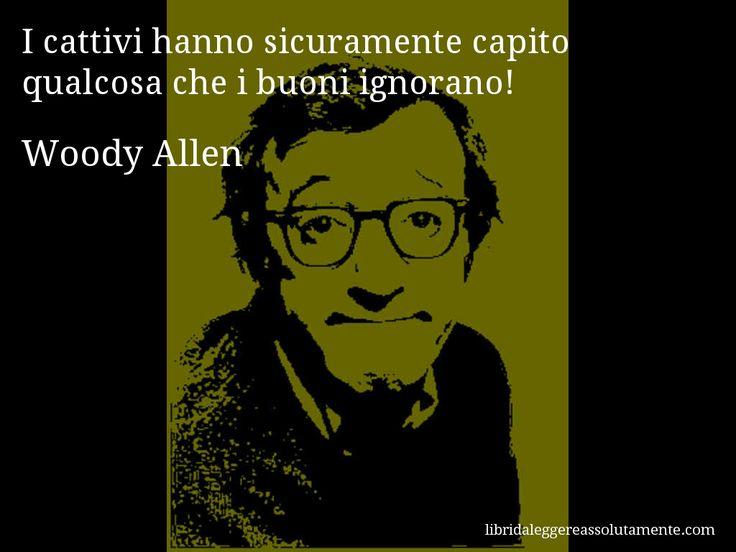 Cartolina con aforisma di Woody Allen (29)