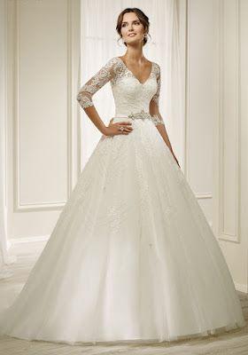 Vestidos de novia en tendencia 2019