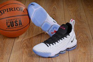 big sale dbf73 f3cc4 Mens Nike LeBron 16 White Graffiti Black Basketball Shoes Lebron 16, Nike  Lebron, Lebron
