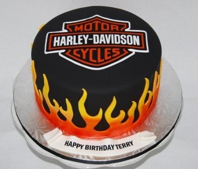 harley davidson cake by marniela on cake