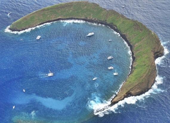O mundo azul do Atol Molokini - Ilhas Havaianas | Você realmente sabia?