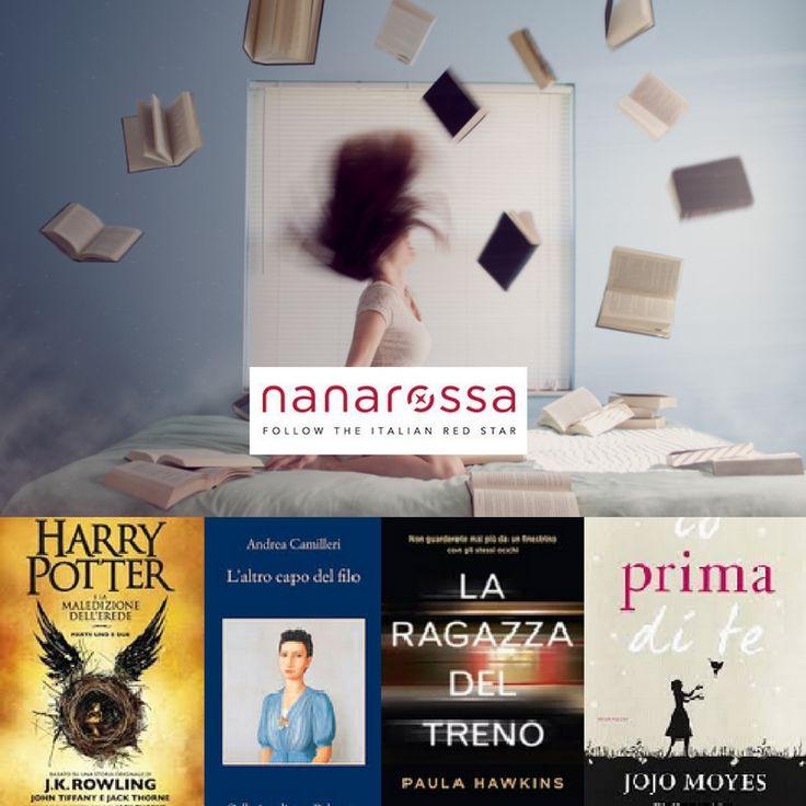 Questi i primi 4 libri più venduti nel 2016. (Fonte IlLibraio.it). Ci dici cosa hai letto tu? #amoleggere #ilmiolibropreferito #nanarossa