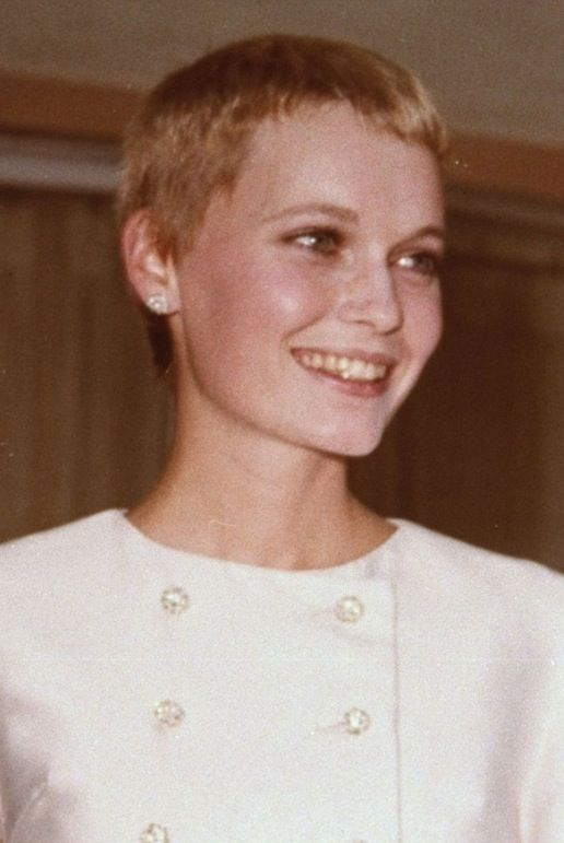 Mia Farrow Short Hair Styles Hair Styles Cool Hairstyles