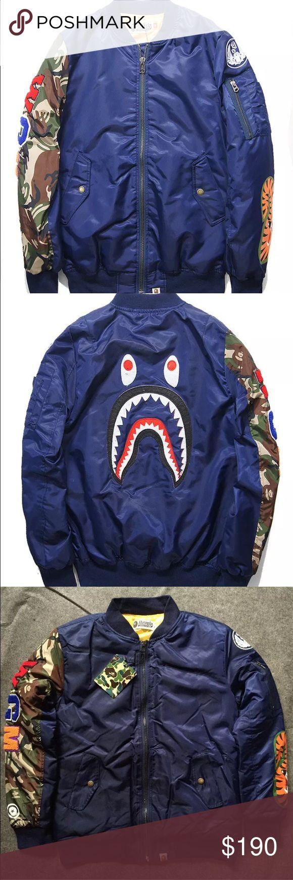 Bathing ape camo wgm bomber jacket New with tags! Bape Jackets & Coats Bomber & Varsity