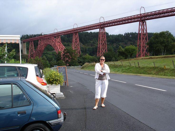 Viaduc de gabarit fait par eifel avant  de construire la tour eifel