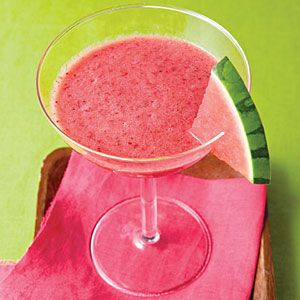 Watermelon-Strawberry Slush | MyRecipes.com