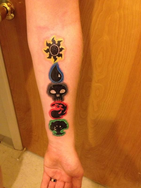 Magic The Gathering Tattoos Official Magic The