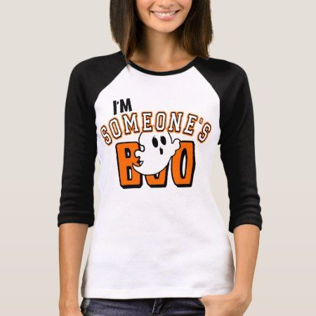 I'm Someone's Boo Ghost Halloween Shirt - tap, personalize, buy right now!
