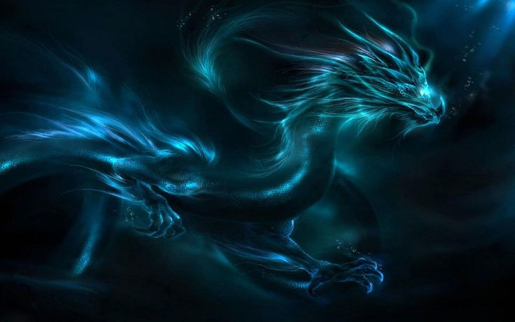 Black And Blue Dragon High Resolution Wallpapers Cool Red Eyes ...