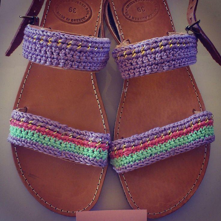 """Bizou Lila"" Handmade Sandals"