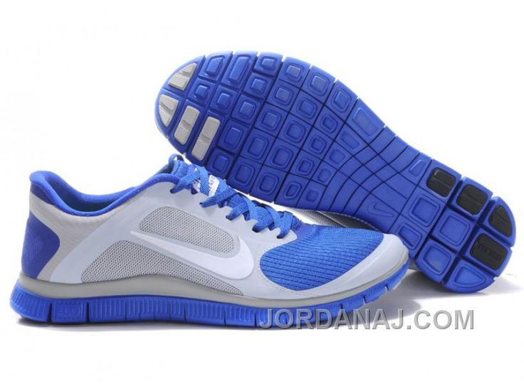 Find this Pin and more on Nike. Nike Mens Free Shoes Wolf Grey White Hyper  Blue ...