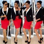 Top Ten Simple And Beautiful Nigeria Office Dresses For Ladies 2016