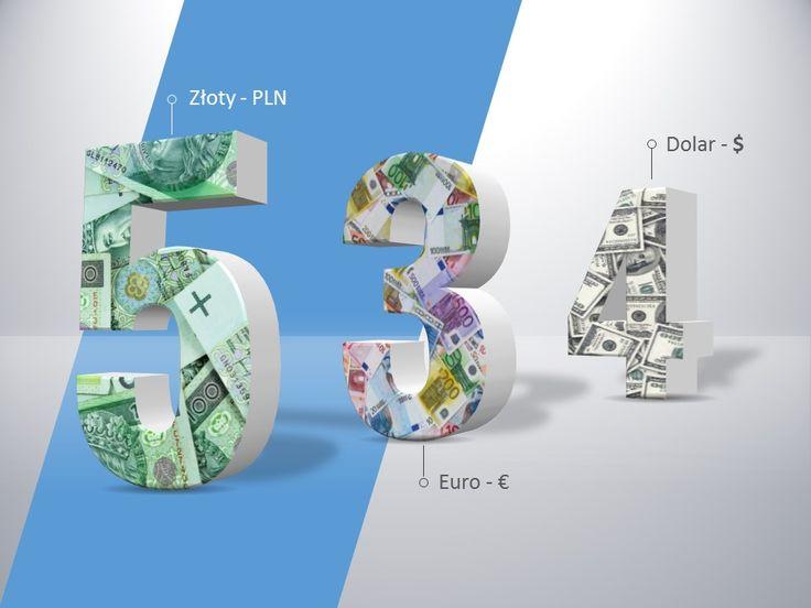Liczby 3D - dolar, euro, złoty http://www.powerslajdy.pl/pl/p/Liczby-PLN%2C-euro%2C-dolary-3D/91