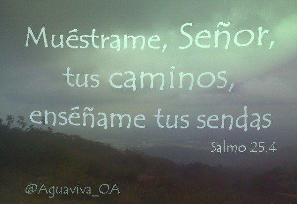 Salmos 25.4