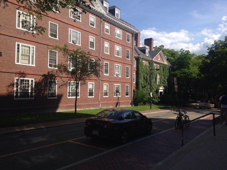 Freshman dormitories in Harvard Yard