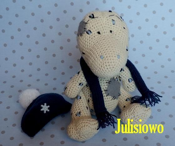 crochet#gecko# Crochet Gecko like a Filip Gecko  Blue Nose  Friends. Pdf Pattern Julisiowo Etsy