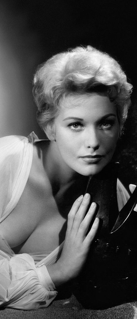 "Kim Novak. Publicity still for director Richard Quine's ""Bell, Book and Candle"" from 1958 (cropped)."