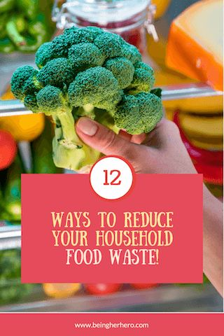 12 Clever ways to reduce your household food waste! – Being Her Hero//cheaper cooking//leftovers//tips and techniques//save money//baking soda tip//freezer friendly