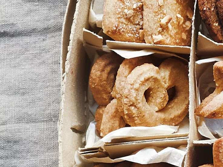 Vanilla Wreath Danish Christmas Cookies Recipe