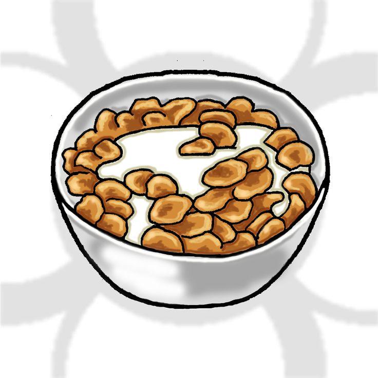 cereales con leche [ES] #tazón de #cereales con #leche [EN] #cereals with #milk #bowl.