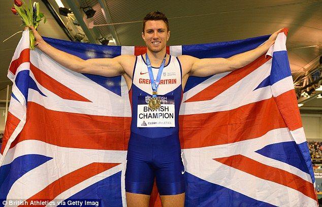 andy pozzi European 60m hurdles champion