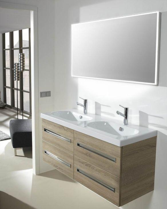 Thebalux Square LED spiegel 60cm (LS600) | BadkamerXXL