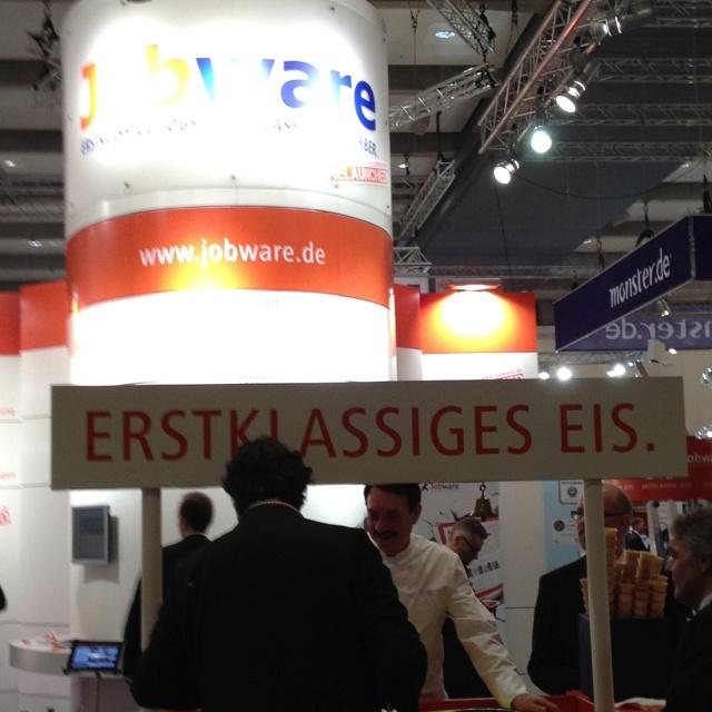 www.Jobware.de, first-class ice!