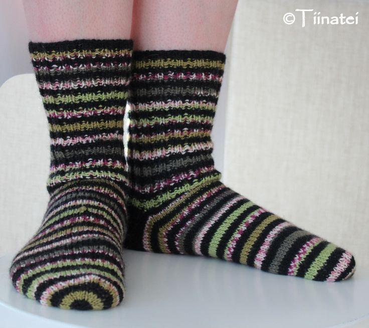 Knitting;  Aslak-socks