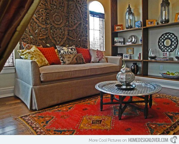 15 Outstanding Moroccan Living Room Designs. Moroccan Living RoomsLiving  Room RedBohemian ...