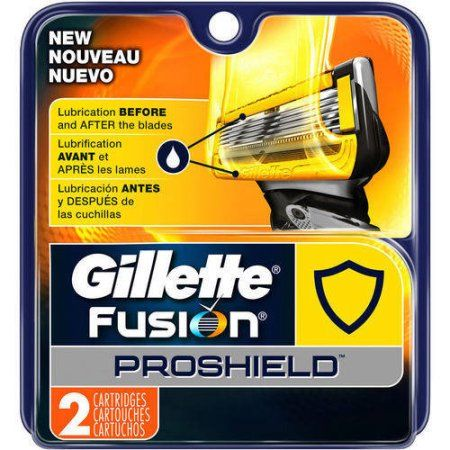 Gillette Fusion5 ProShield Men's Razor Blades - 2 Refills