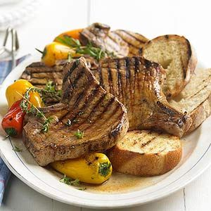 Apple Cider Brine for Pork Cider in the brine adds a hint of apple flavor to the grilled chops in this easy dinner recipe.