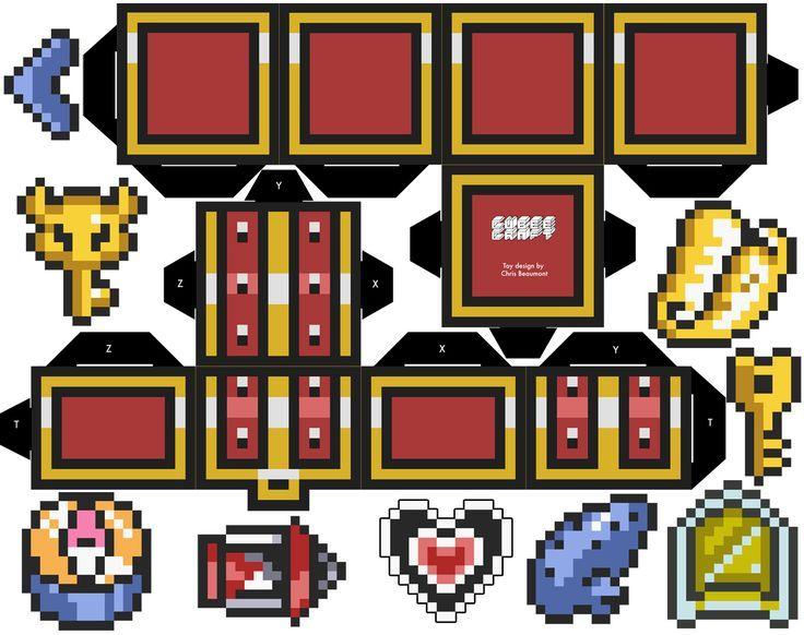 Treasure From The Legend Of Zelda Cubeecraft