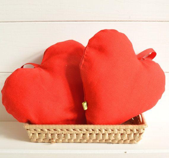 Cuore di tessuto cuscino cuore puntaspilli cuore di disirlab