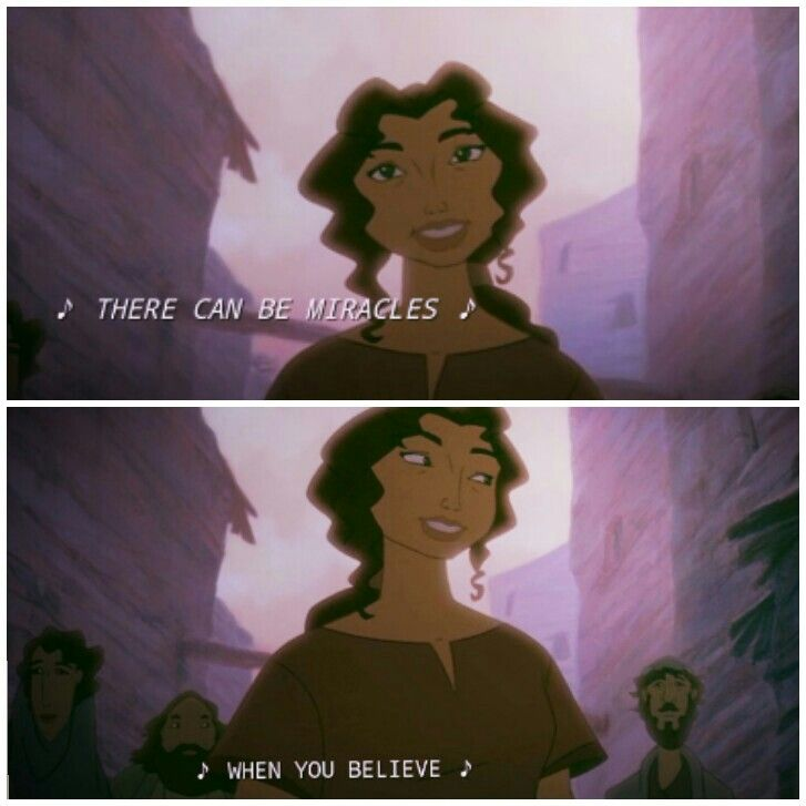 The Prince of Egypt. 1998.
