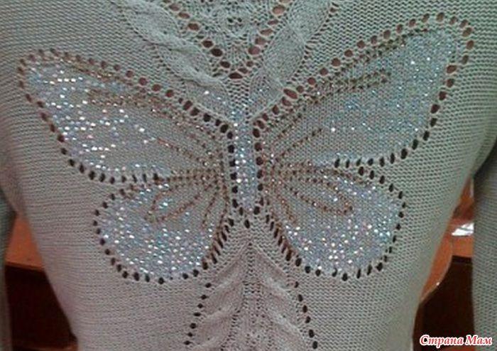 Девочки, захотела дочка такой свитерок на весну. весь интернет облазила, но ничего не нашла. вдруг у кого то есть схема поделитесь пожалуййста  нашла схемы бабочек.