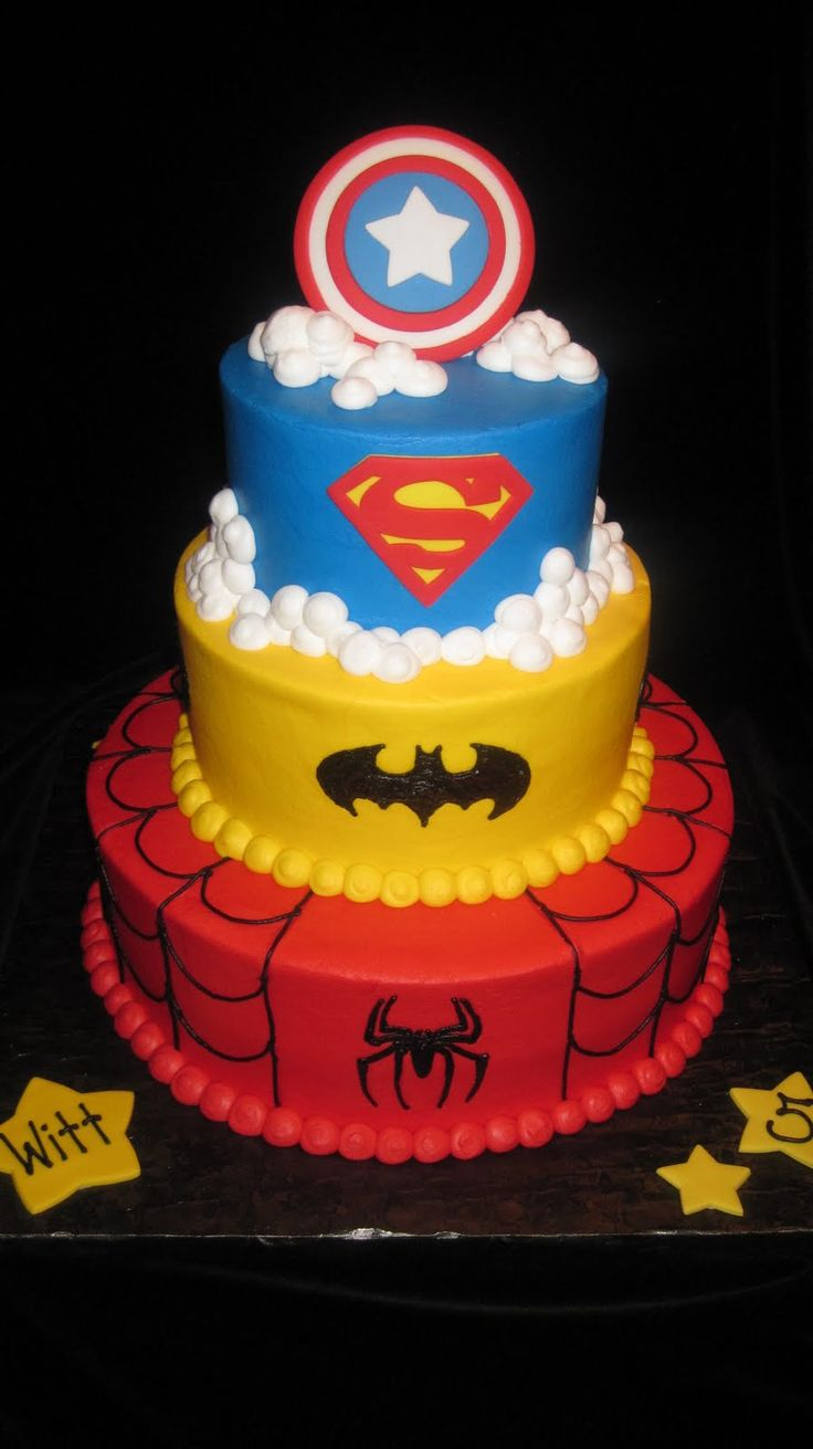found the winner..lets just hope i can pull this off!!! its all buttercream, except the cpt.america shield(ill make a cookie)  fingers crossed!!!