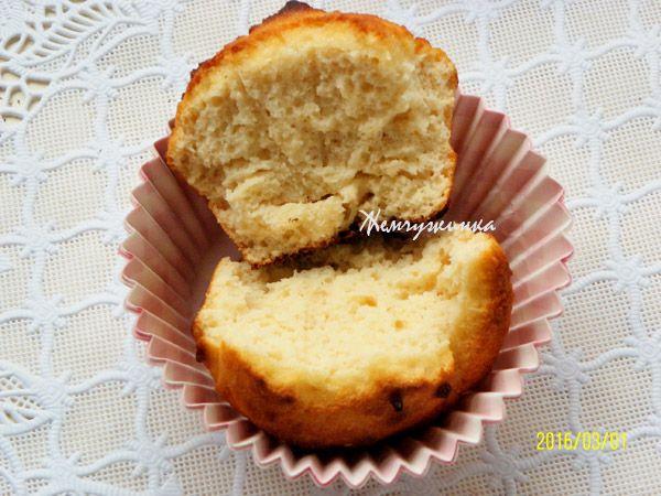 Маффины из кокосовой муки : Низкокалорийные рецепты