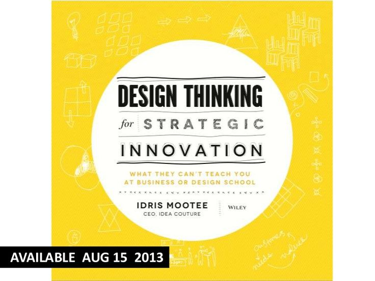 design-thinking-for-innovation-book by Idris Mootee via Slideshare