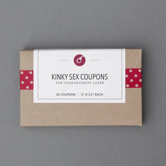 First Paper Anniversary Gift. Sex Love Coupons. by FlytrapOnE