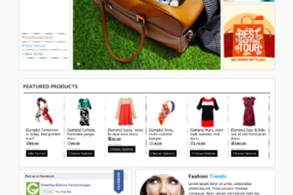 The Absolute Best Free BigCommerce Themes - Fashion Trends (ecommerce theme for BigCommerce) Item Picture